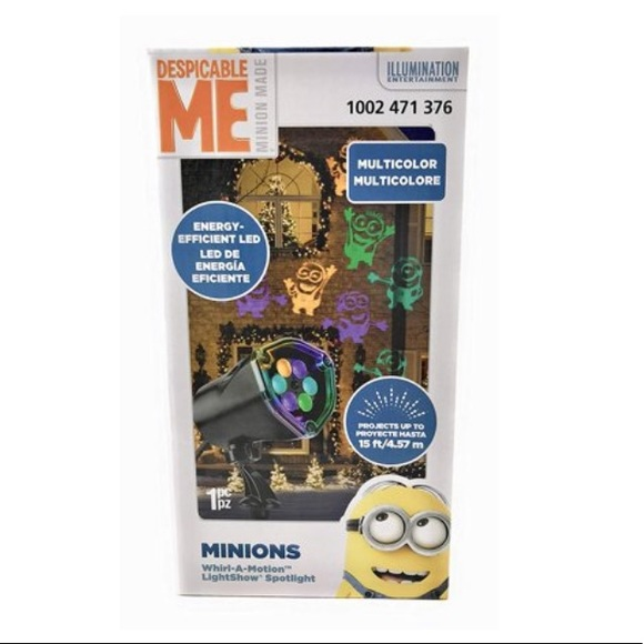 Despicable ME Other - Whirl-A-Motion lightshow Projection DESPICABLE ME